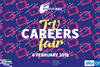 Careers fair with new logos