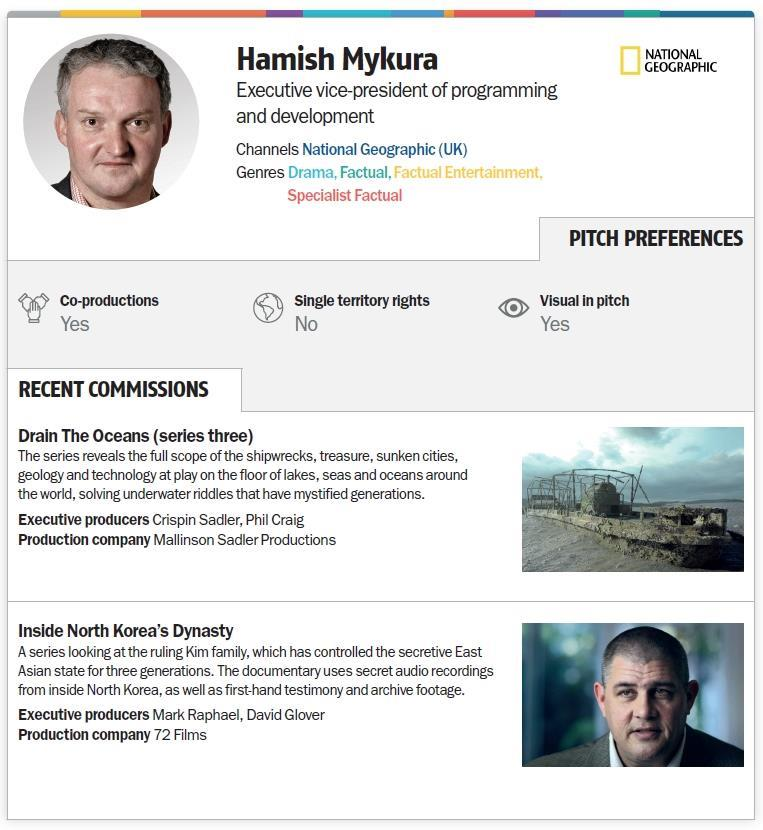 Nat Geo seeks blue-chip docs | Features | Broadcast