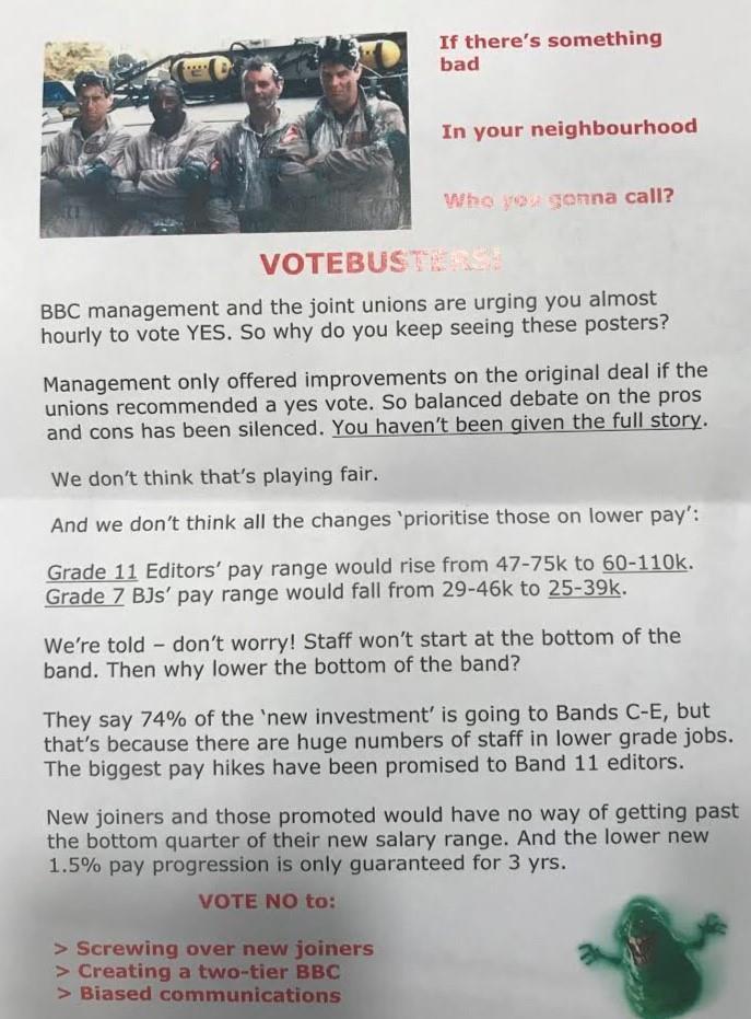 BBC pay ballot faces staff rebellion | News | Broadcast