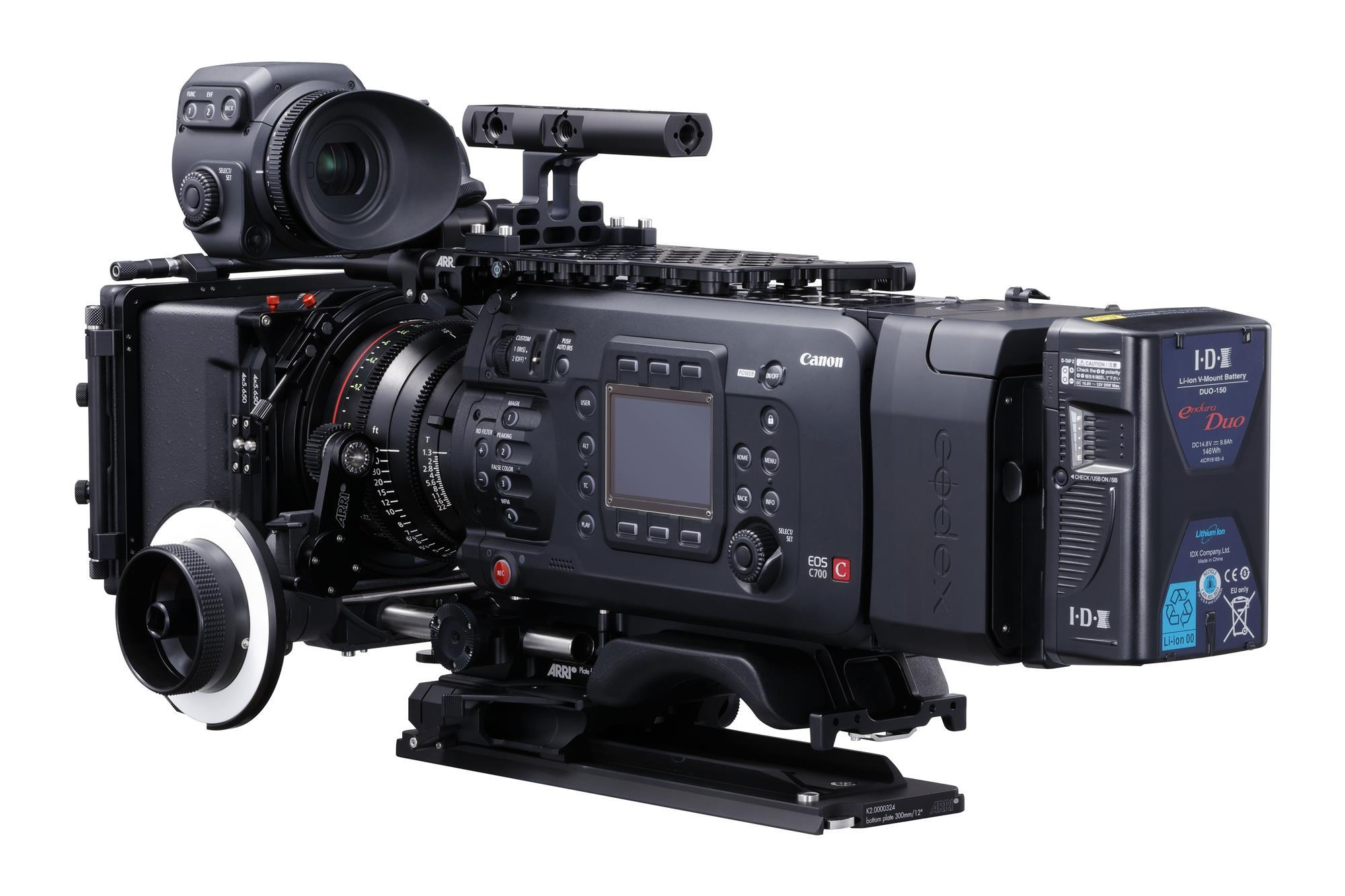 Canon reveals full-frame C700 FF camera | News | Broadcast