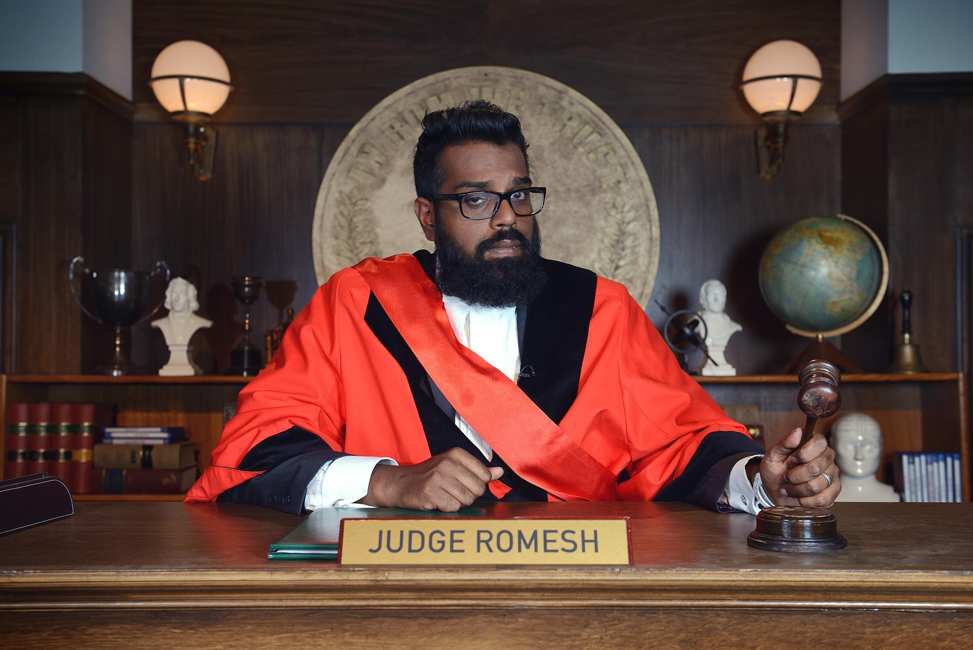 Judge Romesh, Dave | Behind The Scenes | Broadcast