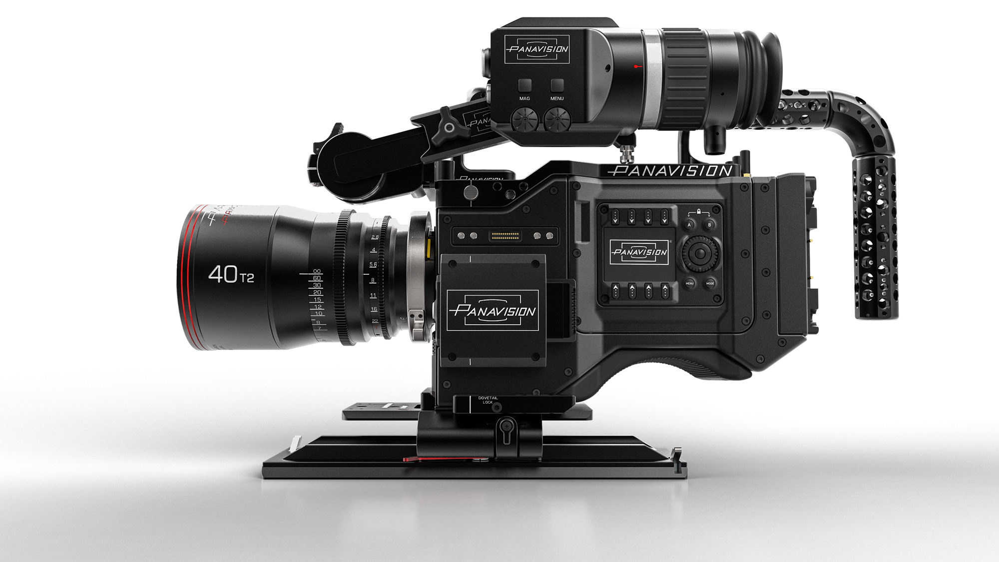 Panavision Camera Star Wars : Panavision partners with red and light iron for k dxl news