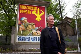 Michael Palin in North Korea image