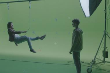 Green screen VFX