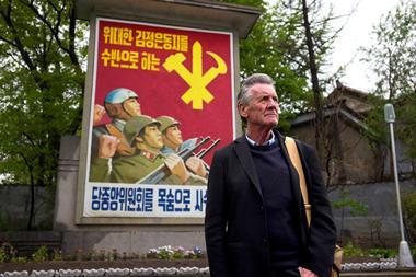 Michael Palin in North Korea image