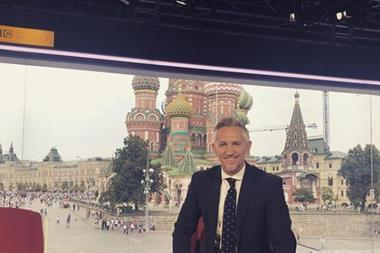 Gary Lineker World Cup