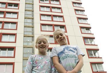 Tower Block Kids index
