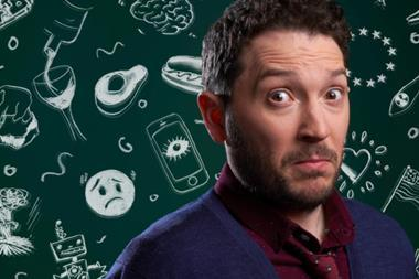 Jon Richardson Ultimate Worrier