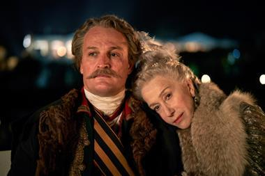 Jason Clarke & Helen Mirren in Catherine the Great