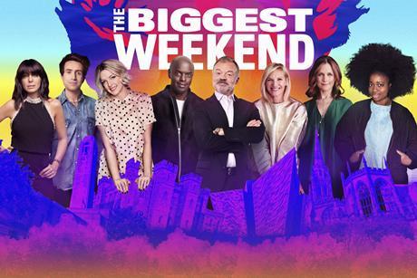 Biggest Weekend hero