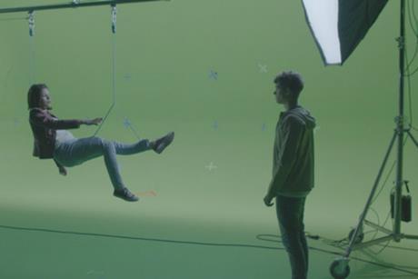 Green screen VFX