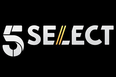 Master 5 select logo colour on black