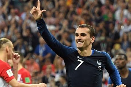 France v Croatia