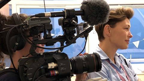 Emma Willis: Delivering Babies, W | Behind The Scenes