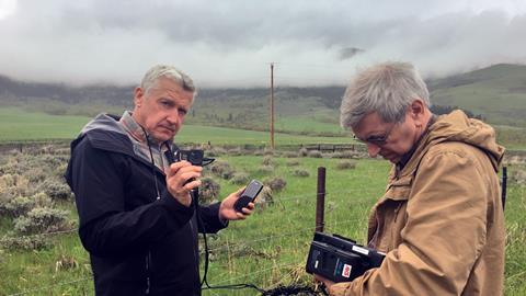 Randy and Bob testing the 4G kit