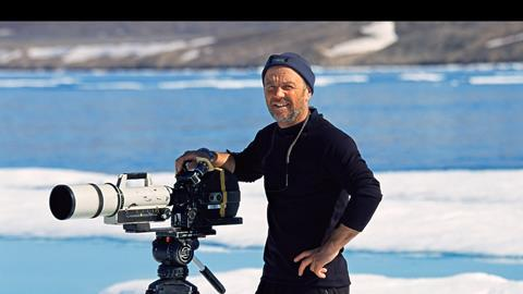 Doug Allan films in the Arctic