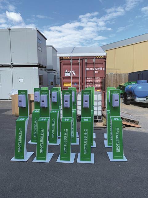 Sanitisation equipment