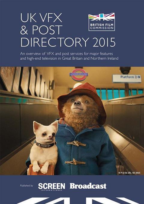 UK VFX & Post Directory 2015 | Digital editions | Broadcast