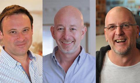Will Cohen, Derek Moore and John Rogerson
