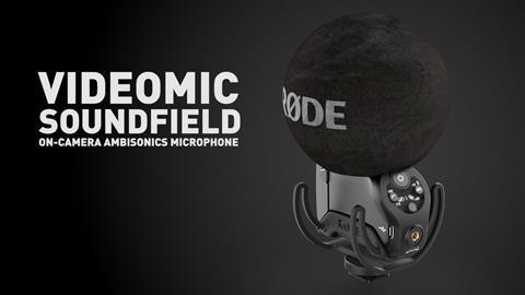 Rode videomic sound field