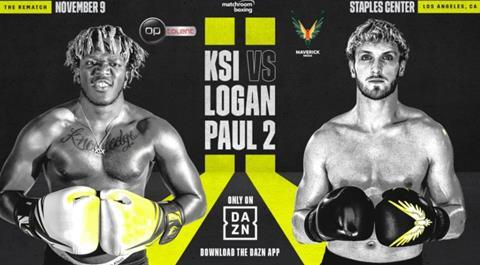 DAZN to stream KSI and Logan Paul rematch | News | Broadcast