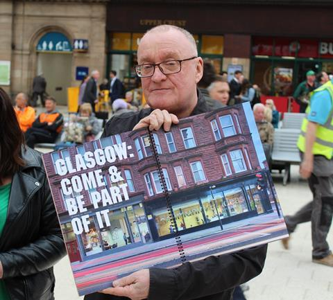 Possible pic for C4 - Glasgow's bid doc