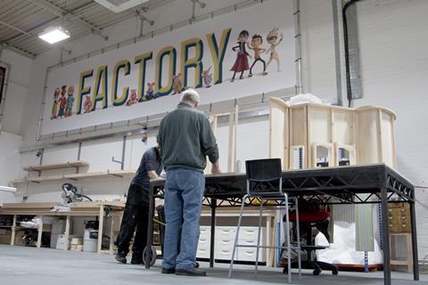 Factory ce workshop close up