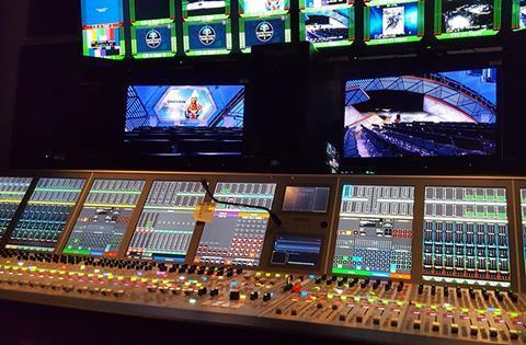 Calrec audio nbc olympics studio a