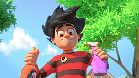 Dennis gnasher unleashed