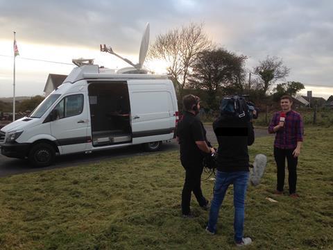 Megahertz built ob van for tinopolis 1 mb