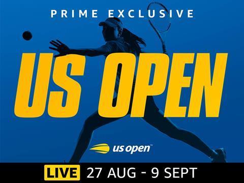 Amazon Prime US Open