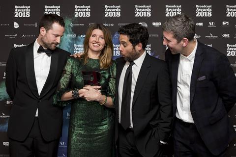 Best comedy programme media wall