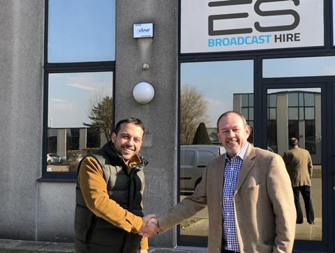 Es broadcast hire belgium office