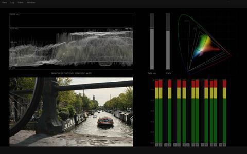 Colorfront image analyzer