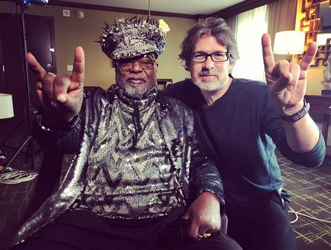 George Clinton and Adrian Sibley
