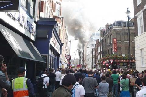 soho dean street fire