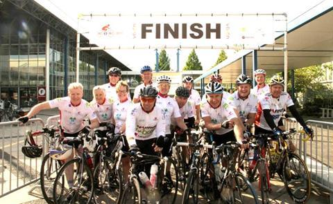 IBC sponsored bike ride