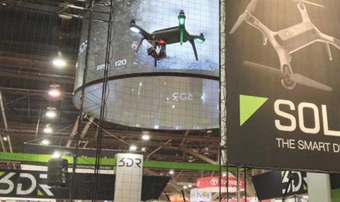 3DR stand at NAB