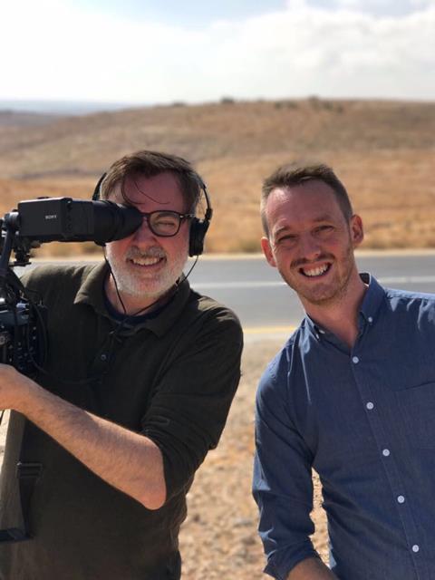 Rob farquhar and tom swingler in jordan