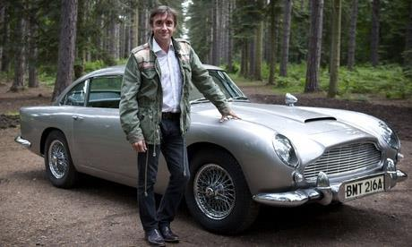 Richard Hammond and the Aston Martin DB5