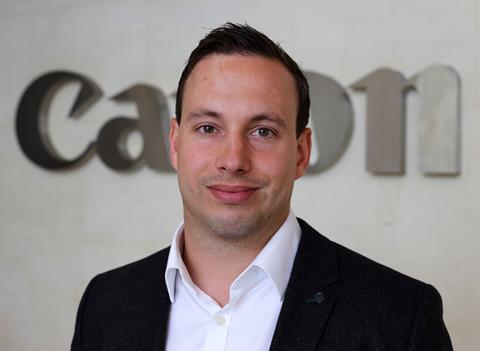 Matthew Yates - Segement Manager, Broadcast, Canon UK & Ireland